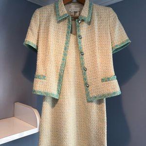 Vintage Escade skirt suit